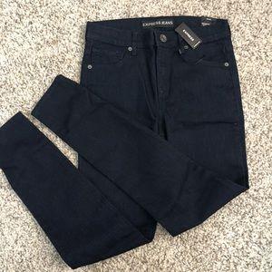 Brand NEW express skinny jean blue size 2 regular